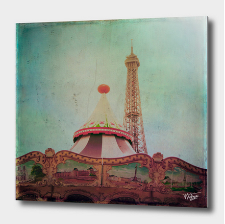 Bohemia of Paris vintage photograph available in my curioos shop as aluminum print