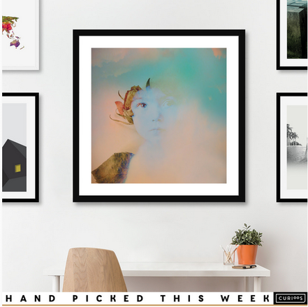 "The artistic Portrait ""Memory 04"" was hand picked by the curators od Curioos. A subtle, Nostalgic soft portrait of a little girl of the past century, around the 1912"