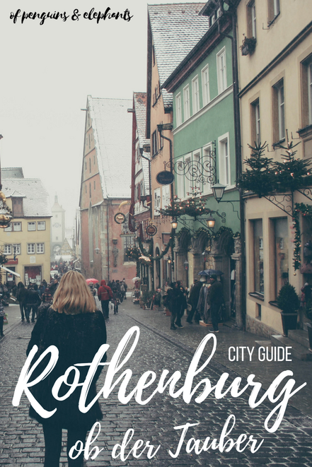 Rothenburg ob der Tauber Germany ofpenguinsandelephants of penguins & elephants City Guide Exploring Rothenburg Pinterest