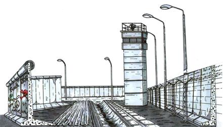 DDR, 30 Jahre Mauerfall, Berliner Mauer,Mauerkrieger, Todesstreifen Graphic Novel, Comic Todesstreifen, Gedenkstätte Berliner Mauer, deutsche Teilung, BStU, Roland Jahn, Christoph-Links-Verlag