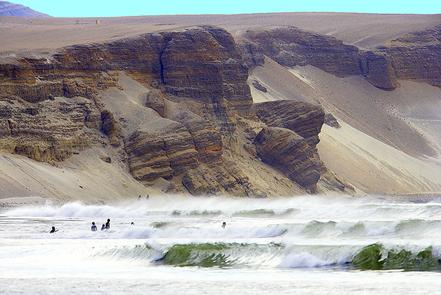 Cala Malabrigo, Arica, Perú. Foto: Y. Ren.