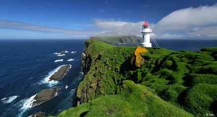 Far a Mykines, Illes Fèroe, país autònom del Regne de Dinamarca. Foto: K. Lys