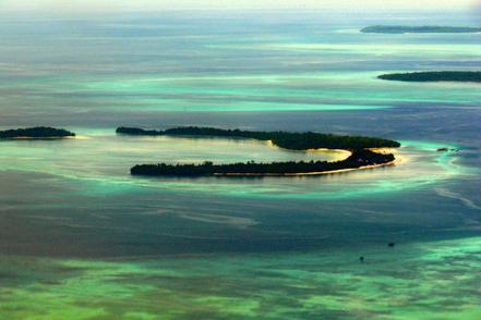 Illa Ngilngof, Kei Kecil, el sud-est de Maluku Regency, Maluku, Indonèsia.