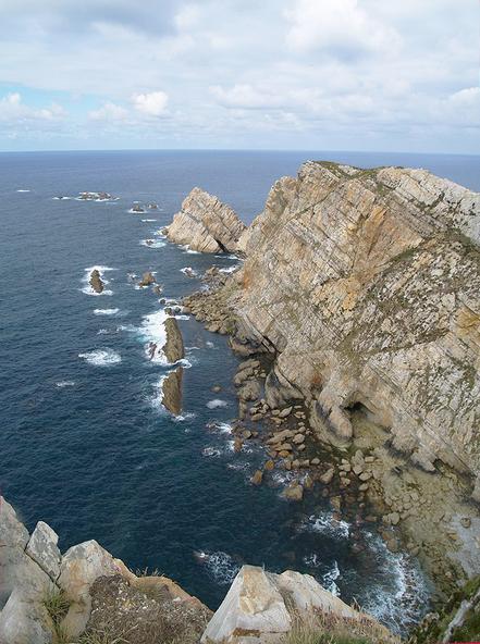 Cala del Cabo de Peñas, Astúries. Foto: Frco. Vies.