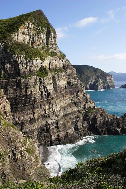 Cala Kashimashi Imuta, Satsuma Sendai, Kagoshima a l'Illa de Rèplica, Japó. Foto: Kazunori Seki.