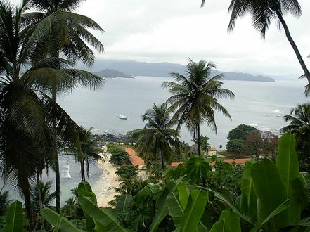 Illa Santo Tomé i Príncipe.
