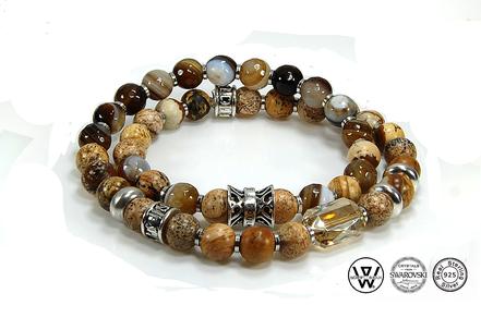 bracelet boheme chic designer collection argent 925 indiews bijoux. Black Bedroom Furniture Sets. Home Design Ideas