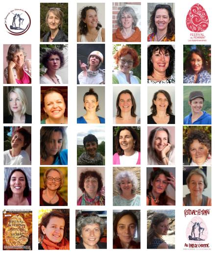 Les intervenantes du Festival du Féminin au pays de l'homme 2015