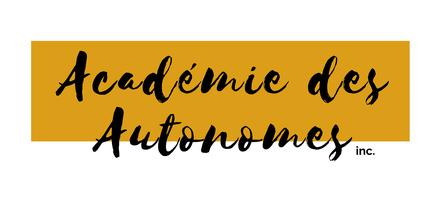 Logo PNG officiel Académie des Autonomes soutien aux travailleurs autonomes