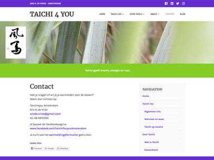 website taichi4you amsterdam