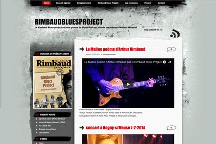 website rimbaud blues project