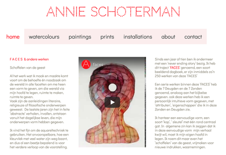 website annie schoterman amsterdam