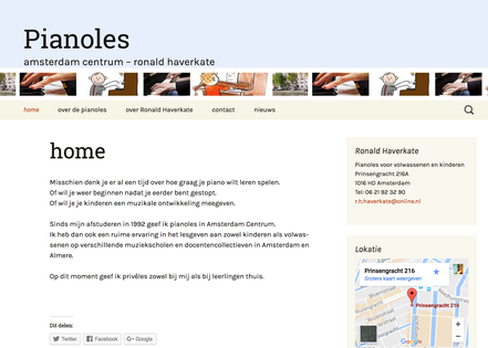 website pianoles ronald haverkate amsterdam