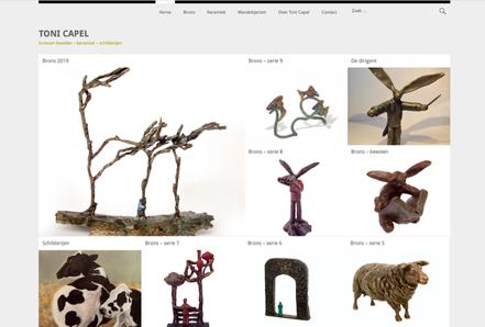 website toni capel beelden amsterdam