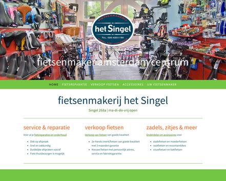website fietsenmakerij het singel amsterdam