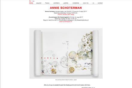 website annie schoterman amsterdam