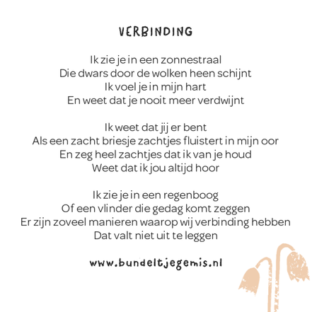 Gedichtjes Voor Infant And Childloss Awareness Month Oktober
