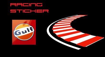 Sticker für dein Sportwagen, Gulf, Martini, Jägermeister