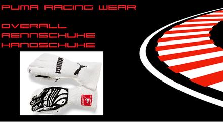Puma Racing Wear Rennoverall Rennanzug