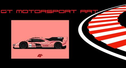 Porsche Racing Poster, Martini, Gulf Jägermeister