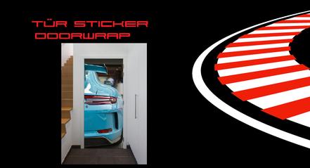 Tür Sticker Doorwrap
