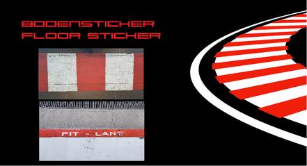 Bodensticker Floor Sticker
