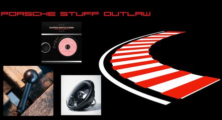 Porsche Sticker, Restaurierung Lenkrad und Sportsitze