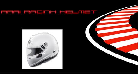 Arai Racing Helmet