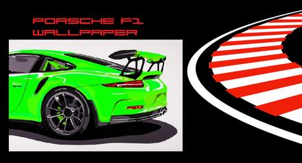 Porsche Wallpaper Artwork