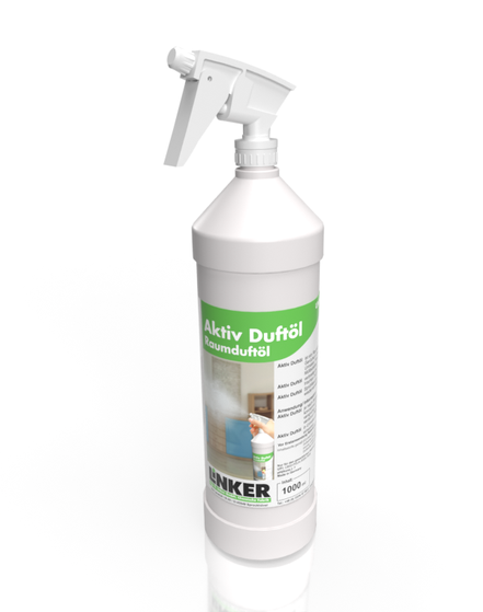 Aktiv Duftöl_Linker-Chemie, Flasche