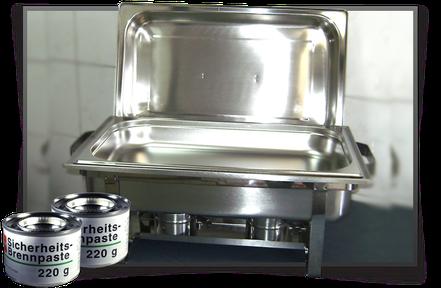 Chafing Dish günstig mieten/ausleihen in Bonn/Köln/Bornheim