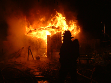 Gartenlaubenbrand 2014