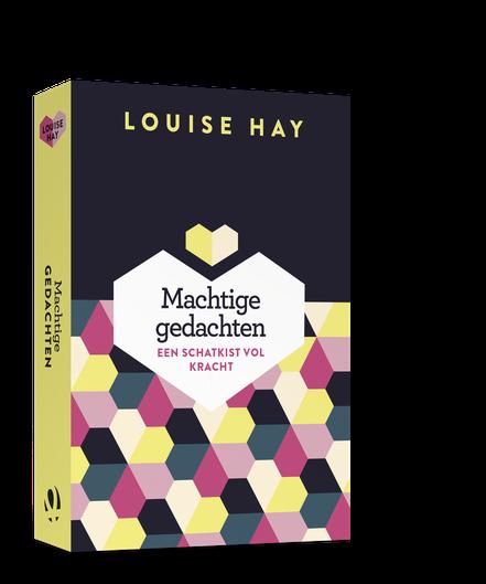 Boek machtige gedachten Louise Hay