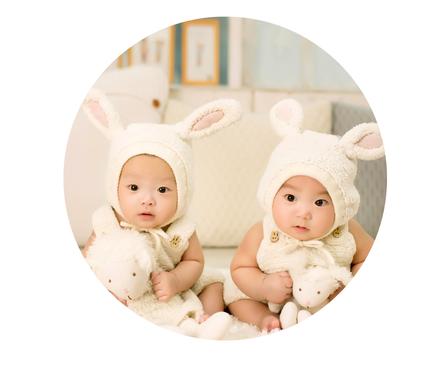Edelstenen en aromatherapie voor de tweeling