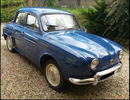 Renault Dauphine, première main