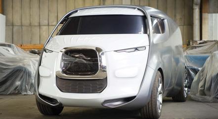 Citroën Tubik, maquette de style, 2011