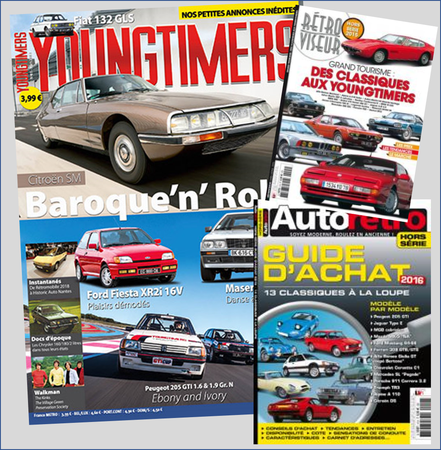 Couverture magazine Youngtimers