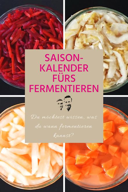Sauer macht glücklich saisonkalender fermentiertes gemüse