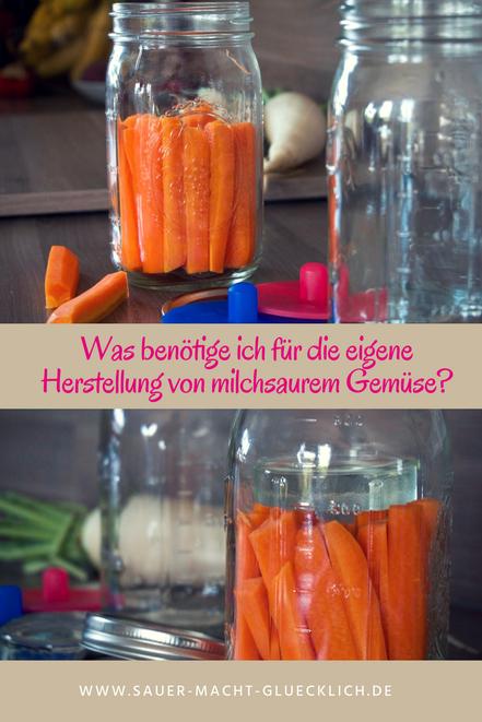 Sauer macht glücklich starterset eigene Herstellung von mlichsauem Gemüse