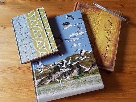 Schreibbücher von @wandelsinn Geertje Jürgens-Wallasch