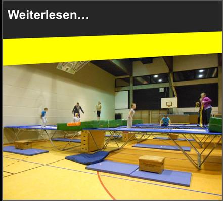 VfL Altenhagen Kinder springen Trampolin