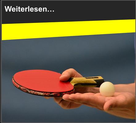 VfL Altenhagen Tischtennisschläger