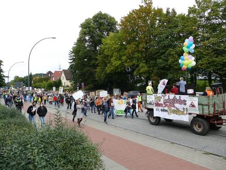 Demonstration 2021 Oberbillwerder
