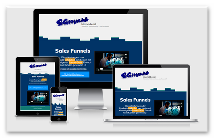 Sales Funnel WebSite verkaufen