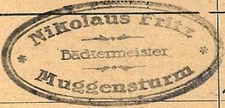 1. Generation: Nicolaus Fritz