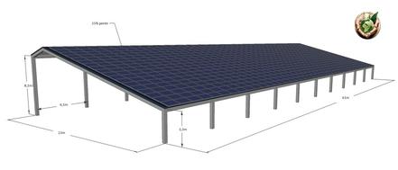 box chevaux ou voiture photovoltaïque