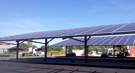 projet ombrière photovoltaïque gratuit