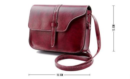 sac en cuir femme, sac de soirée à bandoulière, sac à main, sac cuir marron foncé