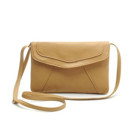 sac enveloppe femme, sac à main cuir, cuir beige, sac soirée bandoulière