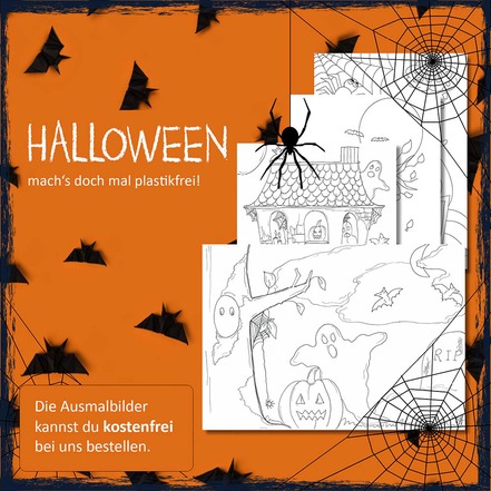 Halloween, Halloween plastikfrei, weniger Müll, Plastik sparne